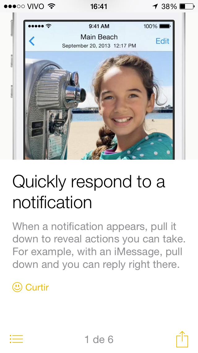 Dicas iOS 8 beta 4