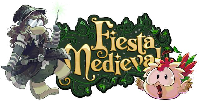 Club Penguin Fiesta Medieval Septiembre 2013!