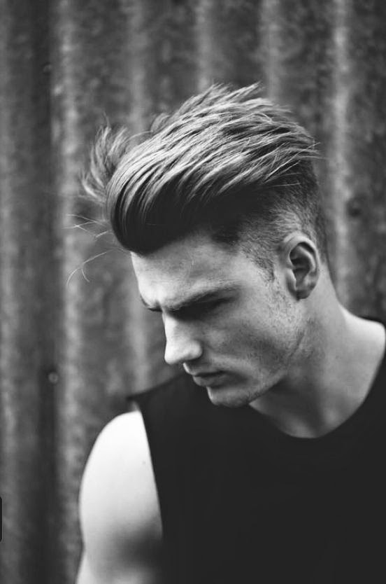 Side Quiff Undercut Men