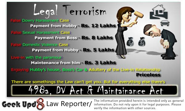 Misuse of 498a is Legal Terrorism - Supreme Court of India