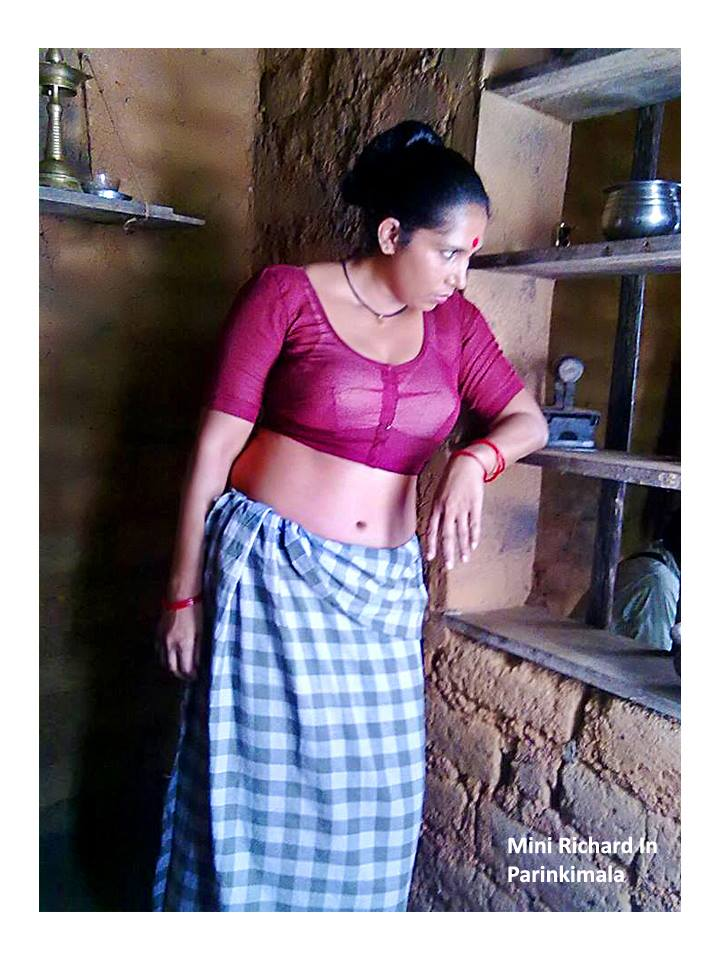 malayalam actress and producer mini richard hot navel and cleavage