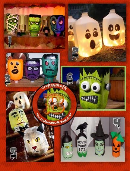 Beck 39 s crafts stuffs decoraciones de halloween baratas - Decoracion halloween barata ...