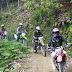 """""""Geng Motocross"""" Gubernur Irwan Prayitno Datangi Pedalaman Sumbar"""