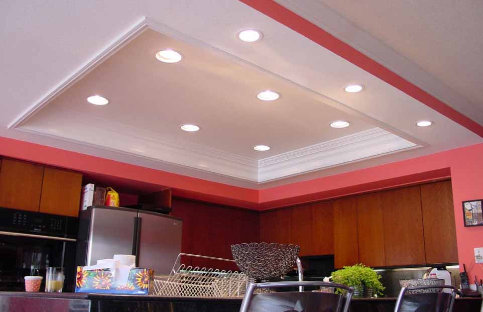 Modern Room And Recessed Lighting