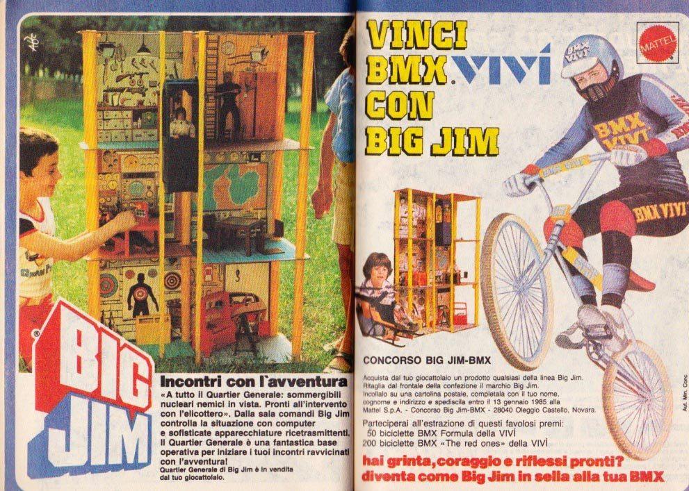 Elicottero Big Jim Anni 80 : Le pubblicità fuorvianti di topolino stagione ii parte i
