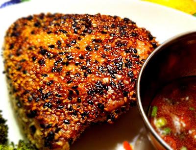 peace. love. & good food.: Sesame Seared Tuna
