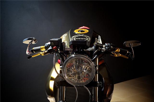 Respray Aluminium Bike Frame