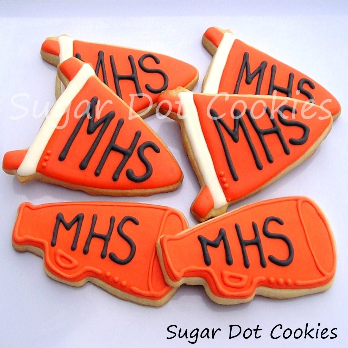 megaphone cookies