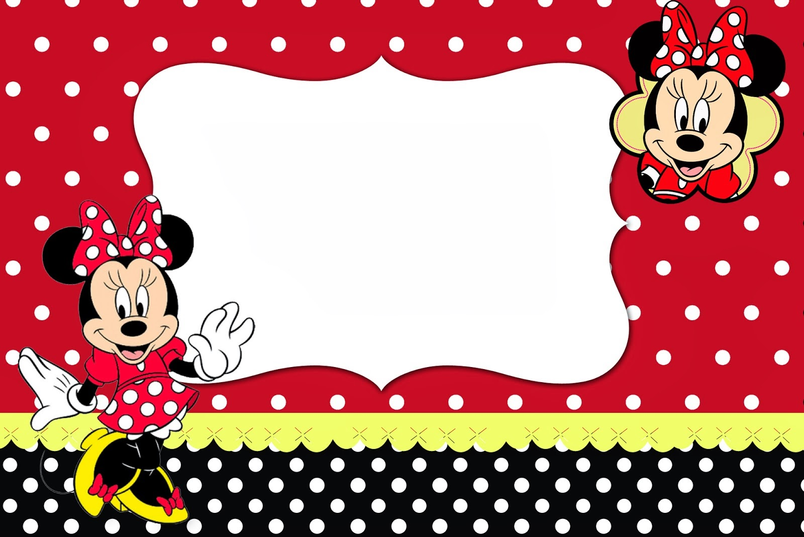 Minnie Mouse Babyshower Invitations was nice invitations template