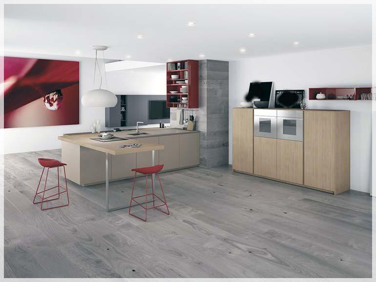 Minimalistisk kjøkken design   interiør inspirasjon