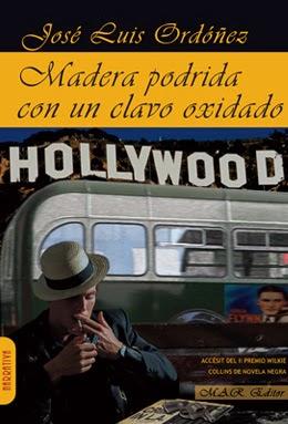 """Portada del libro """"Madera Podrida con un clavo oxidado"""""""