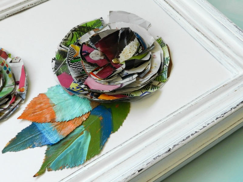 Making Art with Junk Mail and Leaves: Green Craft