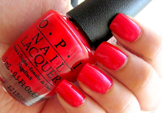 OPI The Colour of Minnie