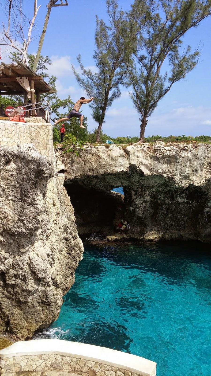 Jamaica, Negril, blue