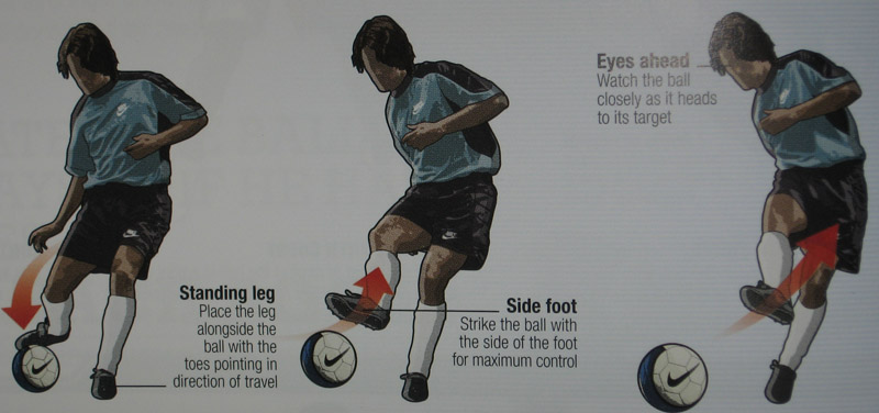 head soccer tricks