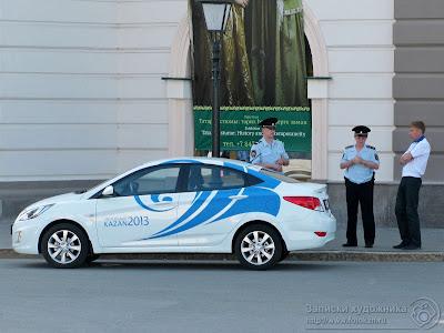 Полиция, Универсиада 2013