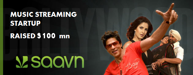 saavn music funds 100mn