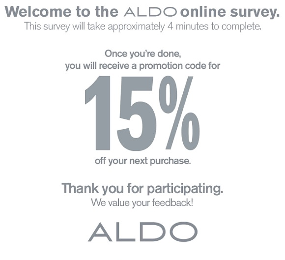 Aldo shoes coupon code