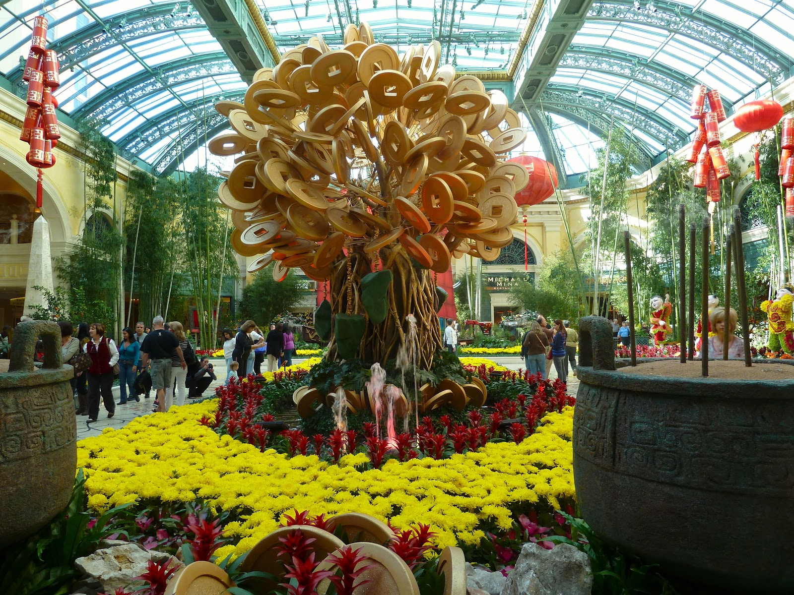 Our Journey Bellagio Conservatory Gardens Display