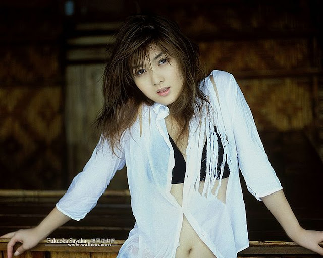 Super Model Fukuoka Sayaka