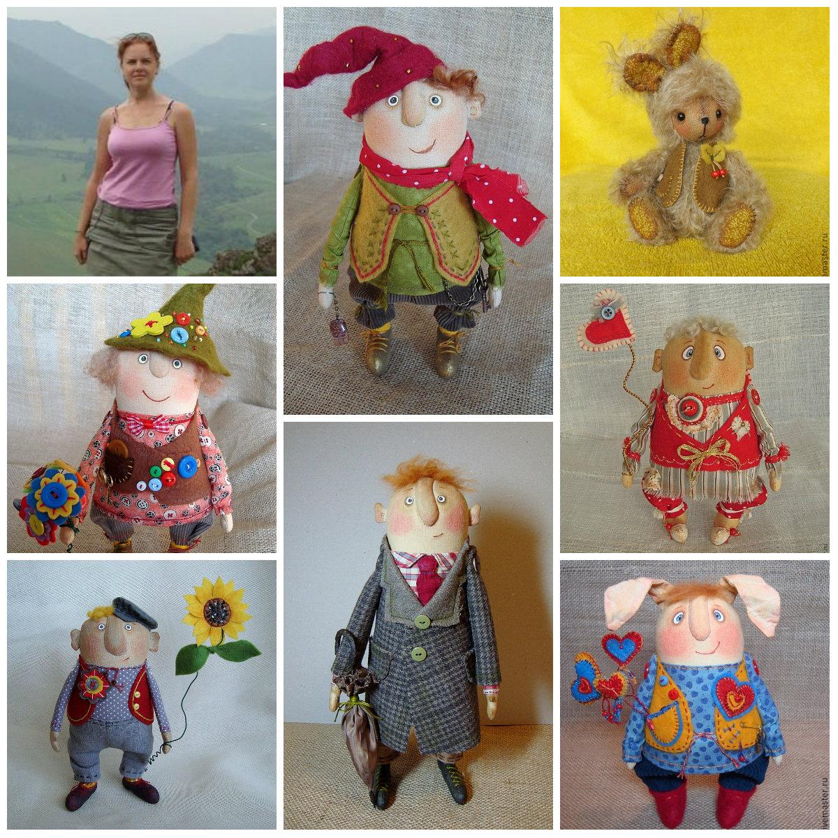 текстильные куклы Наталии Соболевой