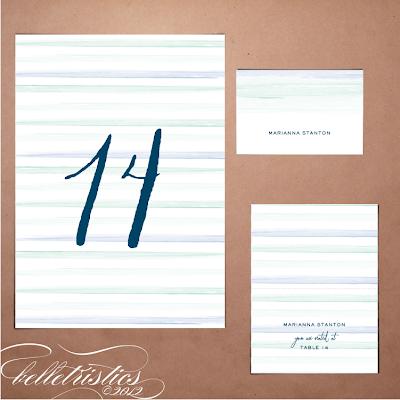 printable diy ombre water color wedding reception escort card table number