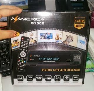 NOVA ATUALIZAÇÃO AZAMERICA S1005 HD DATA: 23/11/2013. Azamerica-s1005-+by+snoop+eletronicos