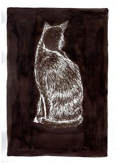 #inktober cat