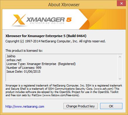 Xmanager Enterprise v5.0464 Full Keygen