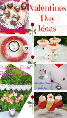 Valentines Day Ideas including Recipes, Crafts and Decor