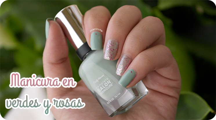 sally hansen green tea