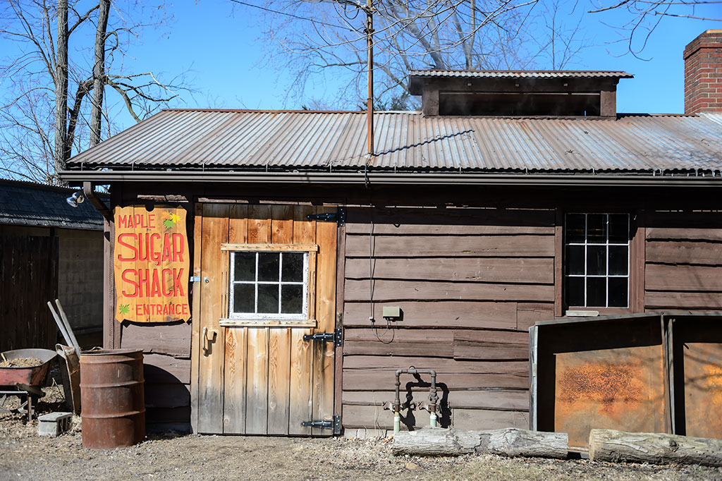 The Maple Sugar Shack - PA Maple Festival