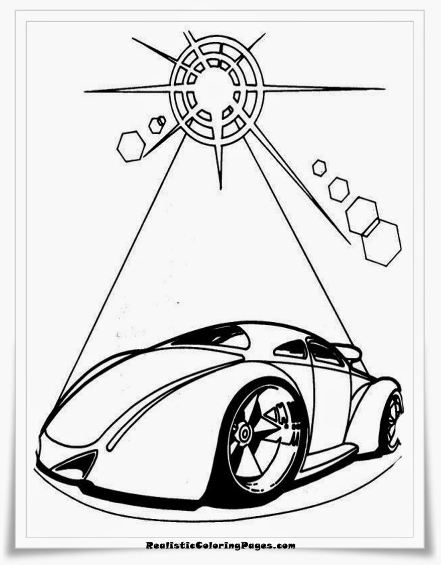 hotwheels race cars coloring pages