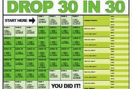 30 Day Diet Plan