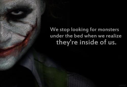 "didn't include that famous ""Why So Serious?"" quote. It's a great quote ..."