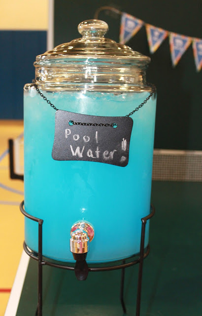pool water punch pool party