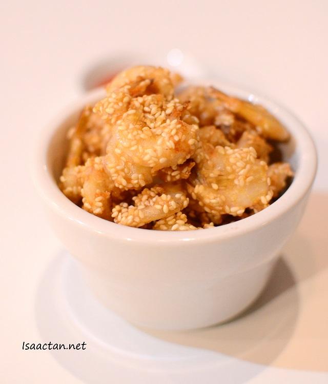 Fried Prawns with Sesame - RM8