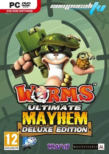 Worms Ultimate Mayhem PC Full Español Deluxe Edition Descargar