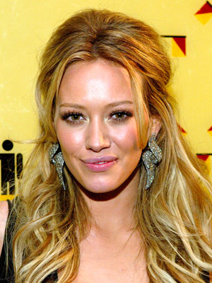 hilary duff hair styles wedding