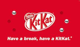 Pausa com KitKat