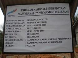 lowongan kerja PNPM 2013