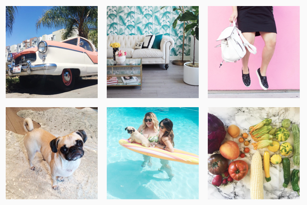 colourful Instagram feeds to follow