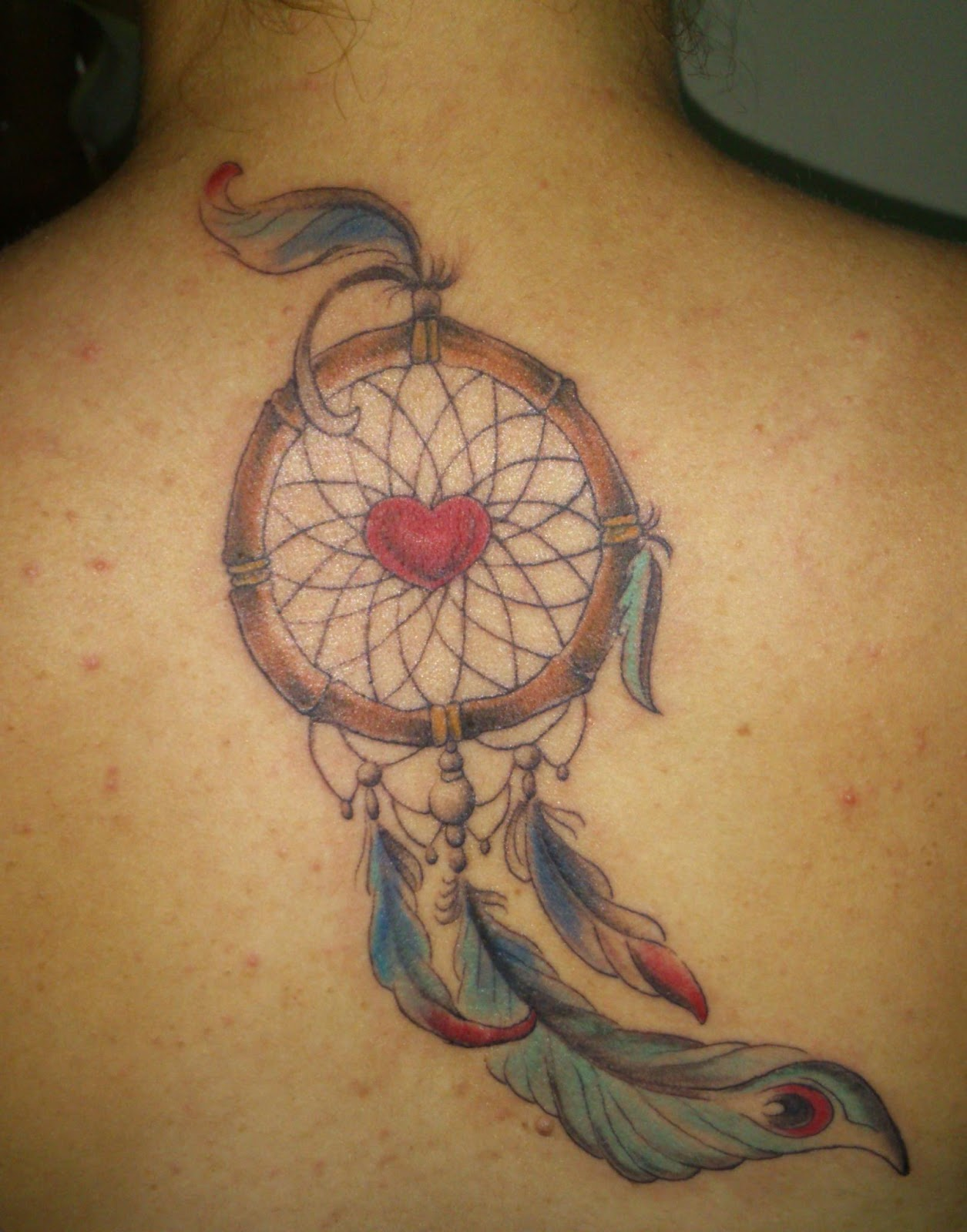 Dreamcatcher Back Tattoos