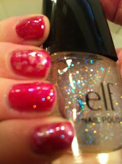 Elf glitter polish
