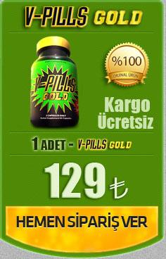 V-Pills Gold 2 Adet İndirimli