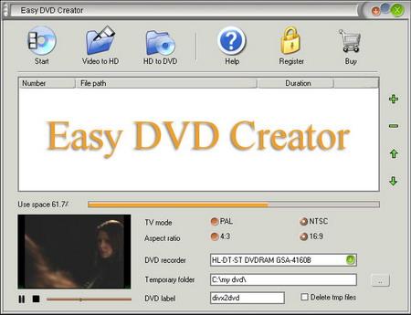 easy dvd roxio gratis: