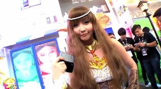 Alodia Gosiengfiao Elf cosplay at Sony Uphoria party