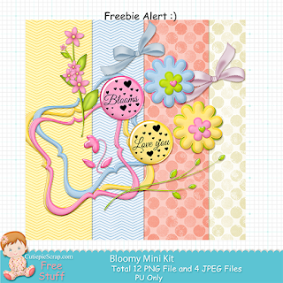 http://www.cutiepiescrap.com/2015/06/free-mini-scrap-kit-bloomy.html