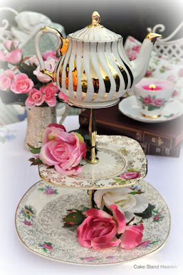 Quirky Cake Stands for a Mad Tea Party