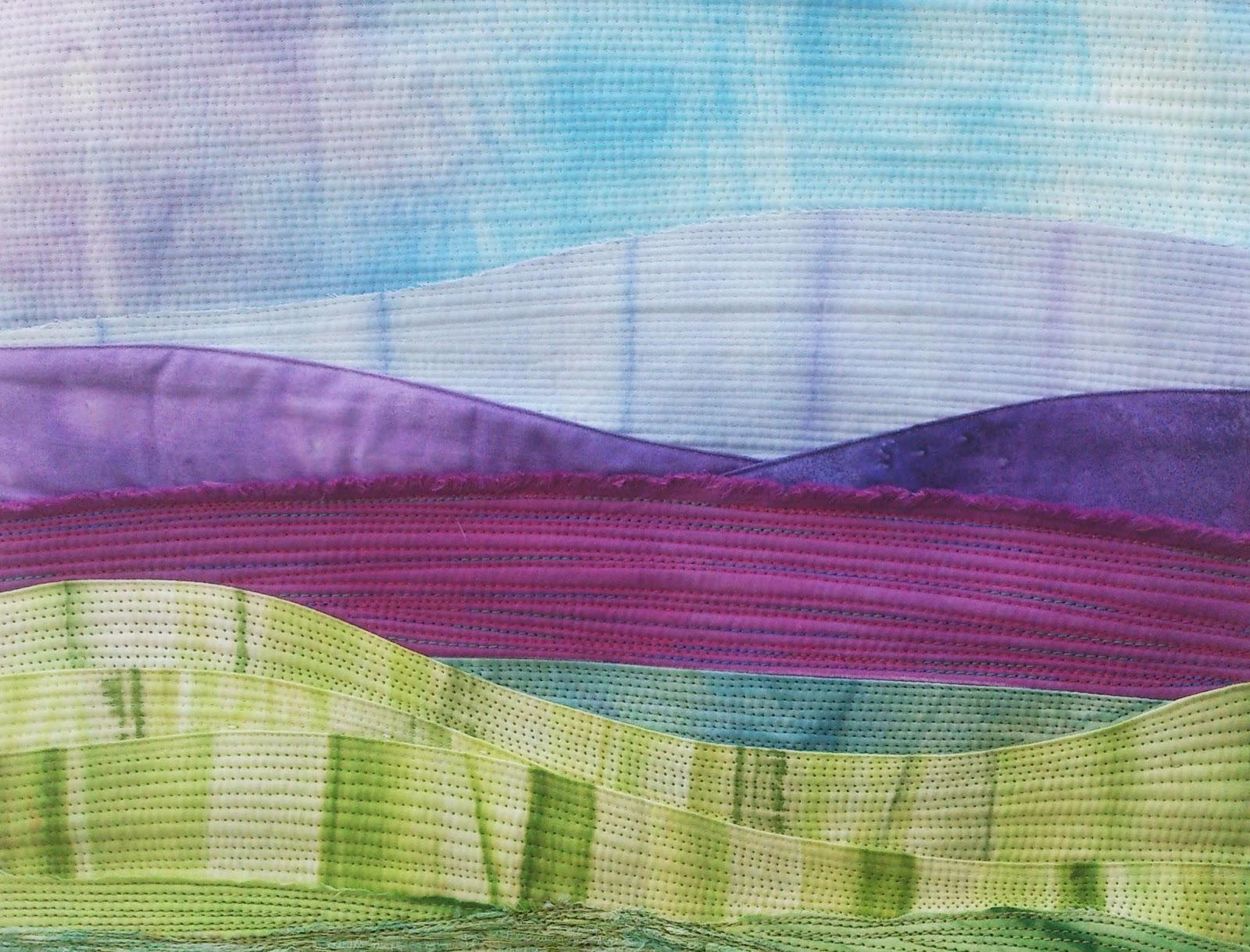 landscape quilting Quilt Routes